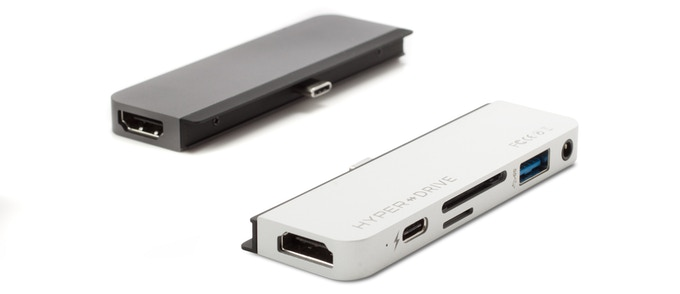 Available in Space Gray and Silver aluminum enclosure