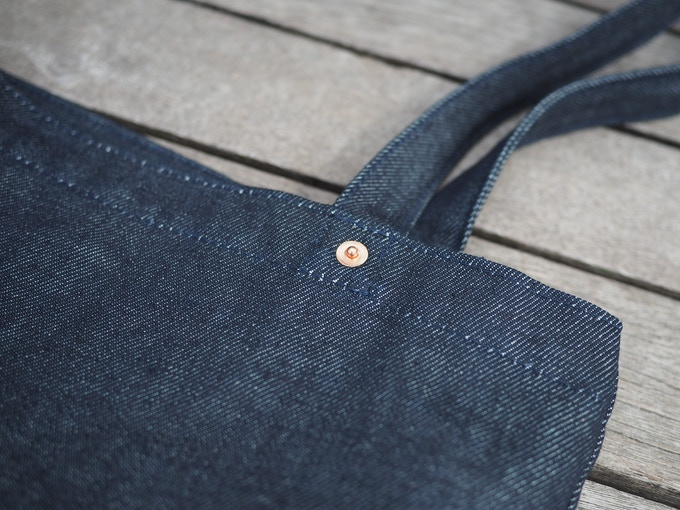 Reinforced Straps With Copper Rivets