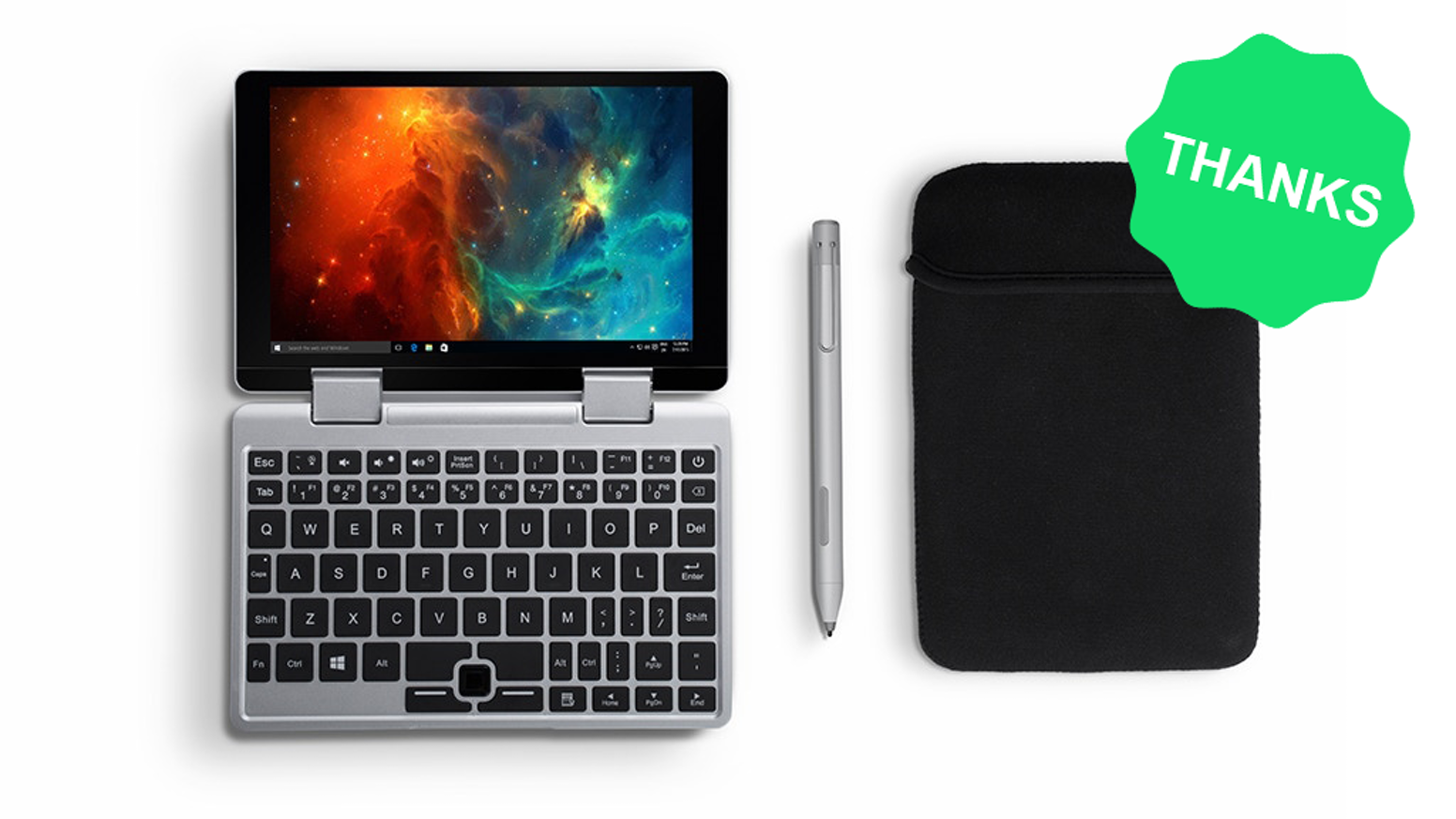 Tiny in size yet big in power. Falcon is a super portable laptop and tablet designed for work and play while you are on-the-go.