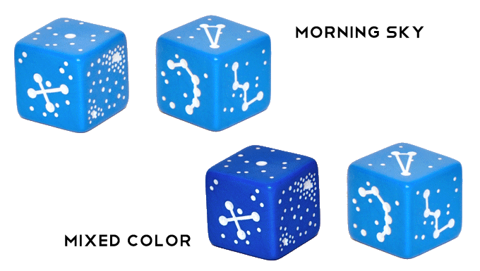 The available colors.