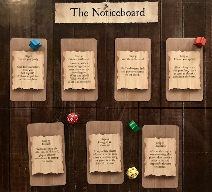 The Noticeboard By Jason Watson Kickstarter