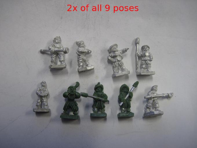 Artilleristen (Artillerymen)