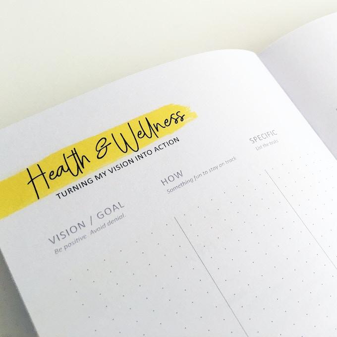 Make it Real - Health & Wellness page