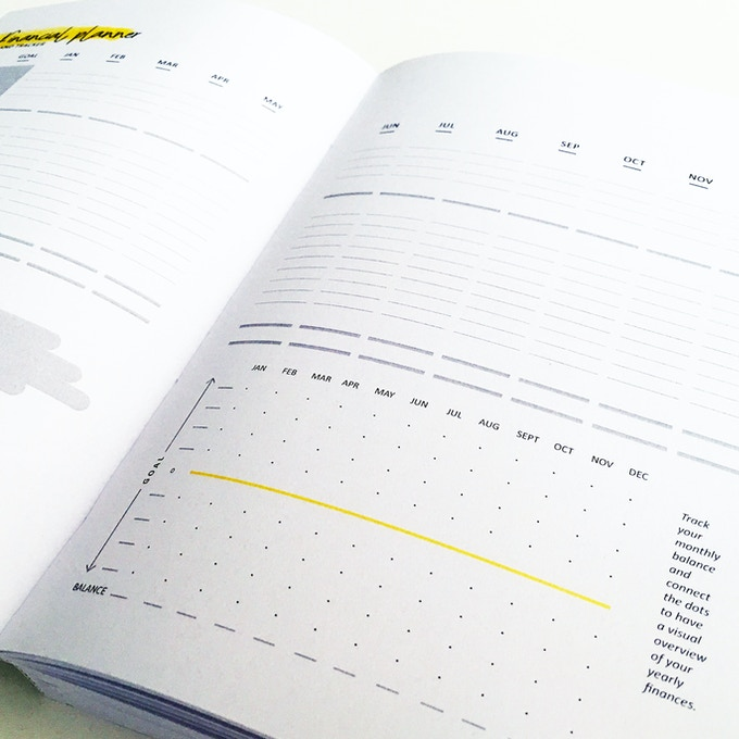 Financial planner and tracker - details