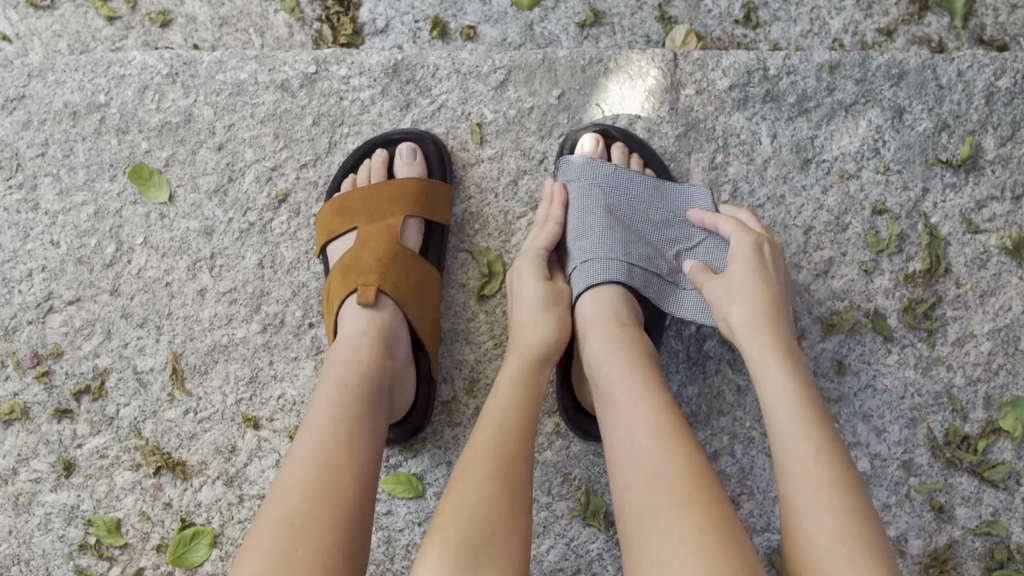 t.souls - the most comfortable eco-friendly travel shoe project video thumbnail