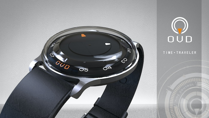 Back to the past or into the future, all it takes is one press.  OVD's first project, introducing the TIME TRAVELER