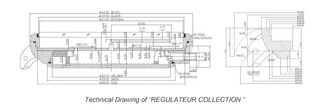 US$99 Modern Minimalist Design Regulator Watches by LEVILLE ... on