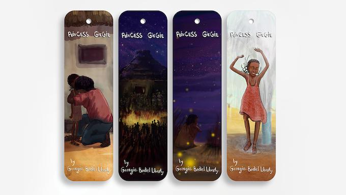 Princess GieGie Bookmarks