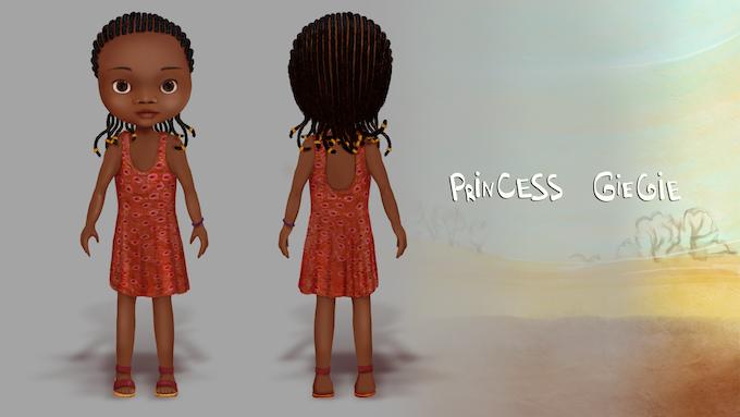 Princess GieGie Doll