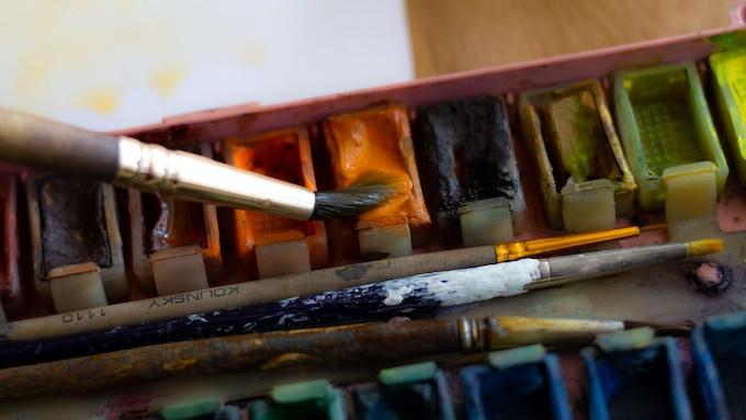 Water Color Painting by Oksana Kupriienko