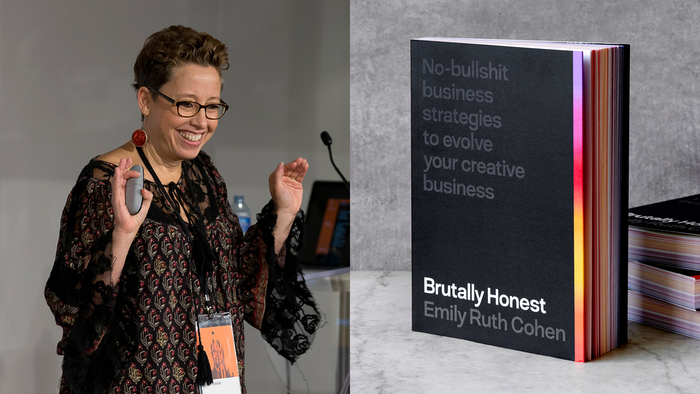 Need some tough love for evolving your creative business? Brutally Honest is the book for you!