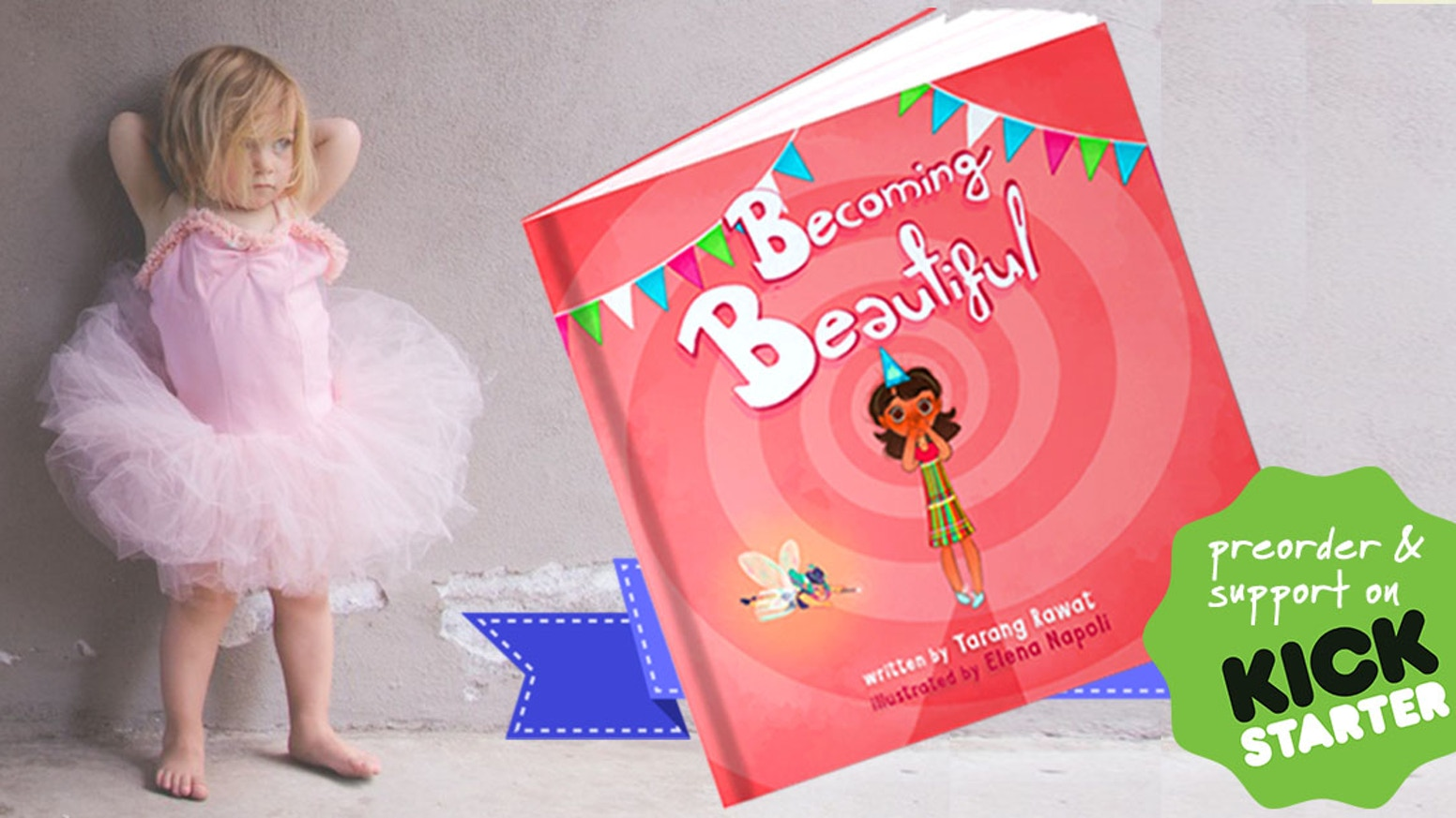 Picture book with an inspiring message for young girls to develop positive body-image and self confidence. 