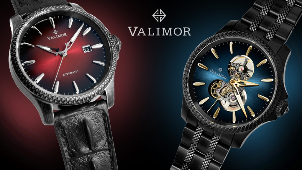 Patented Timepieces with Swiss Mechanical Movement-From $379