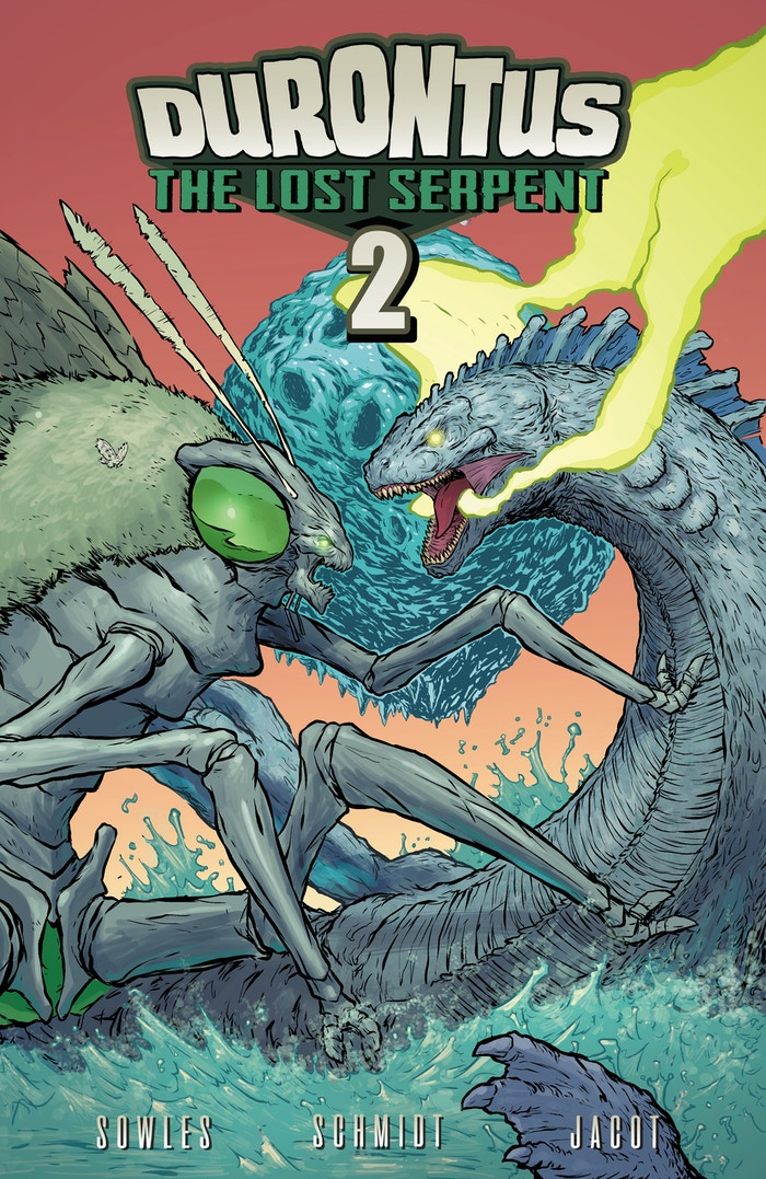 Durontus: The Lost Serpent returns!  Fans asked for it!  Now follow the action packed story of the mighty monster in this sequel issue!