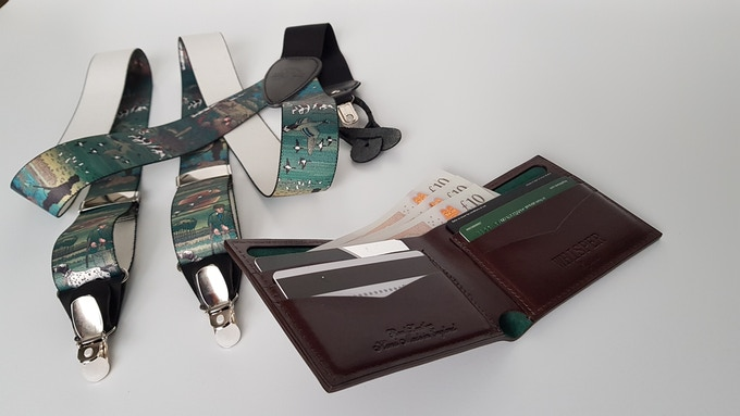 Our wallets are distinguished by remarkable combination of classic and modern.
