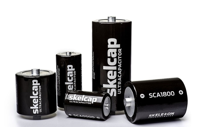 Supercapacitors (Skeleton Technologies [CC BY 4.0 (https://creativecommons.org/licenses/by/4.0)], via Wikimedia Commons)