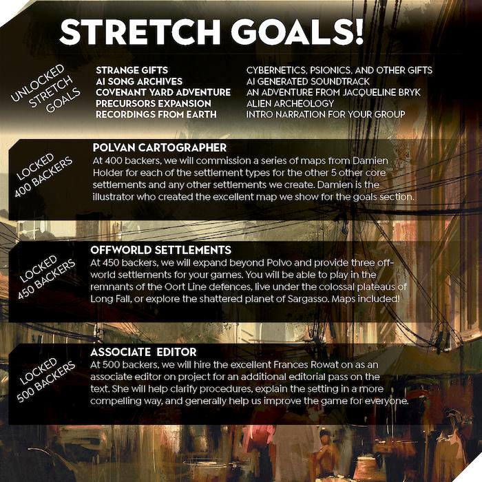 Final Stretch Goals