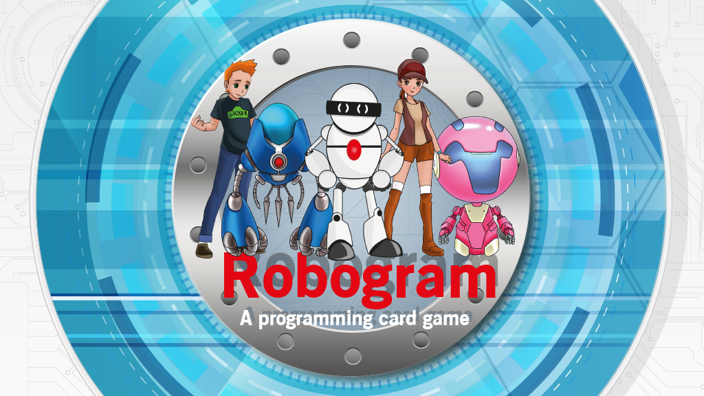 Robogram - The Programming Card Game - Enter The Cyberspace project video thumbnail