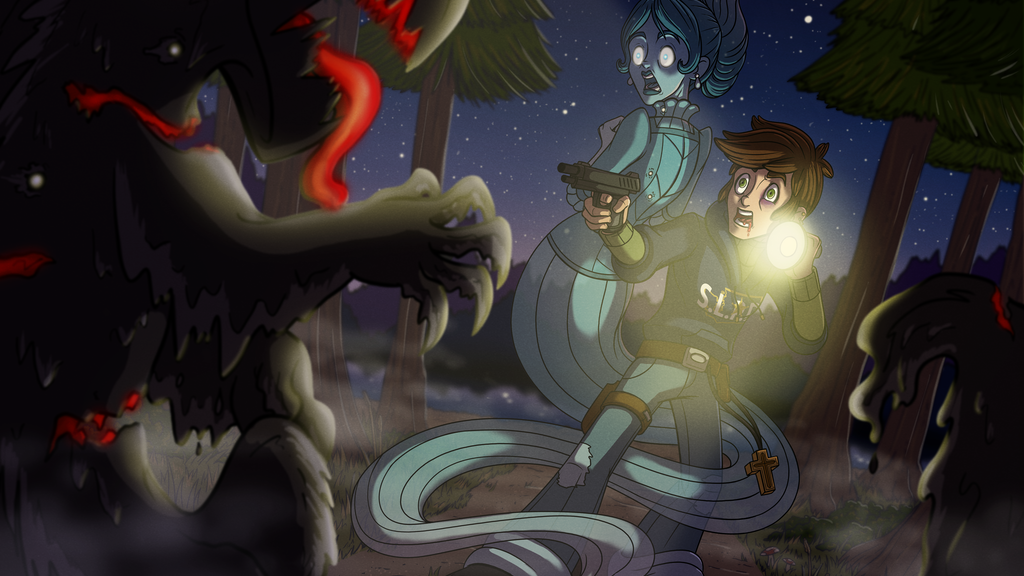 Spectral Lakes: A Paranormal Mystery Animated Pilot
