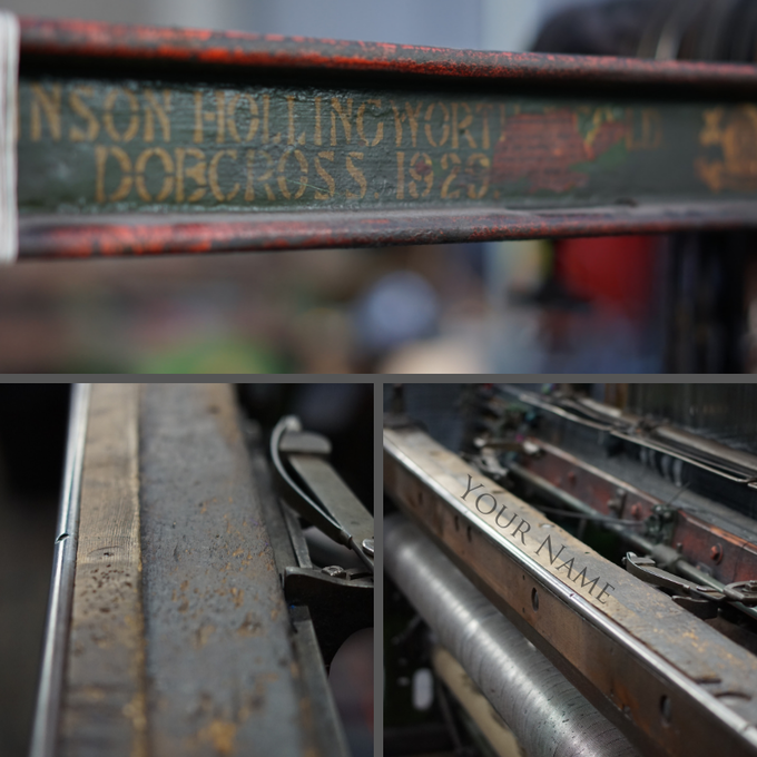 1929 Your Name on Loom