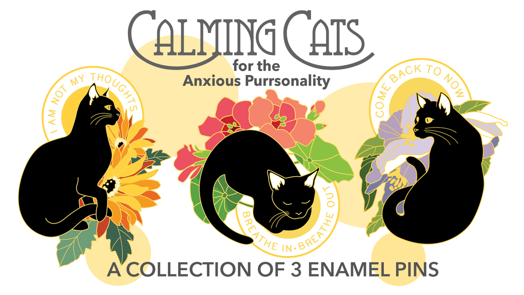 Calming Cats for the Anxious Purrsonality