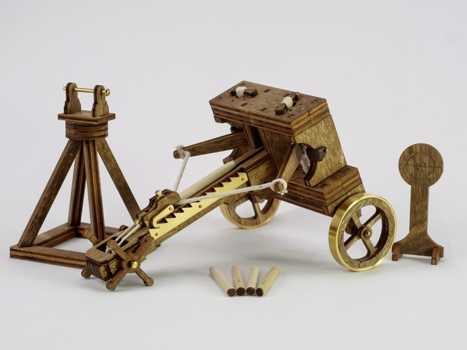 Photo above shows the assembled Ballista kit with included accessories