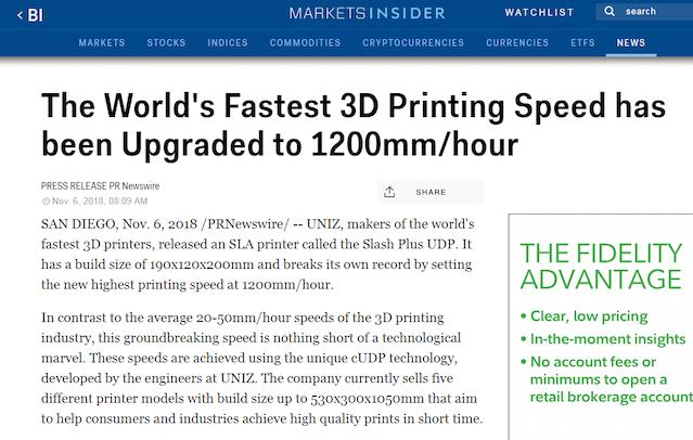 SLASH: The Next Level of Affordable Professional 3D Printer by Uniz