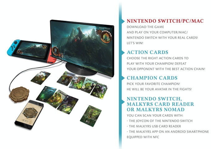 Malkyrs - The interactive card game by MALKYRS STUDIO — Kickstarter