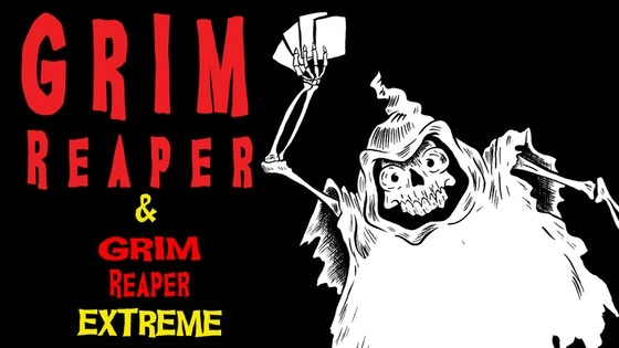 Laughing in the face of death! Who will be the new Grim Reaper?  A fun and morbid undead family fun card game for 2-5 players.