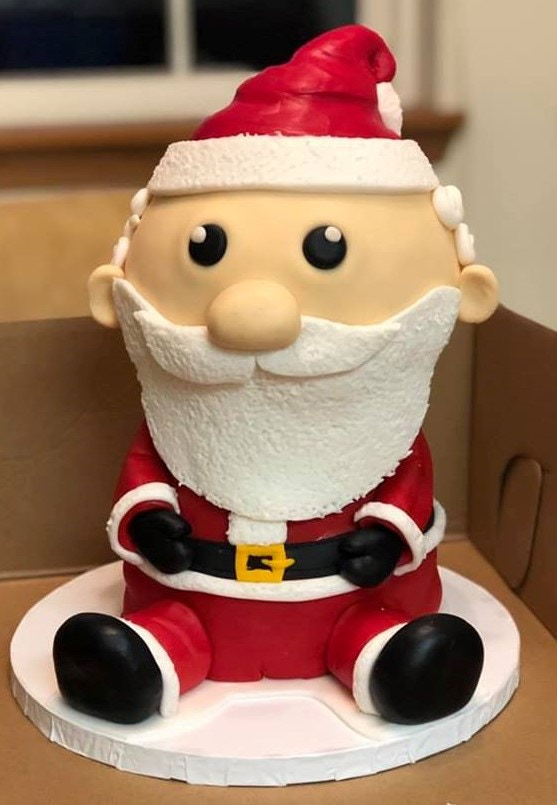 Santa says HO HO HO