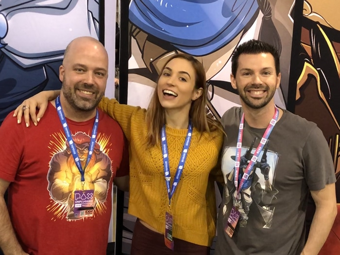 Becca Scott from Geek & Sundry joined for 2 games!