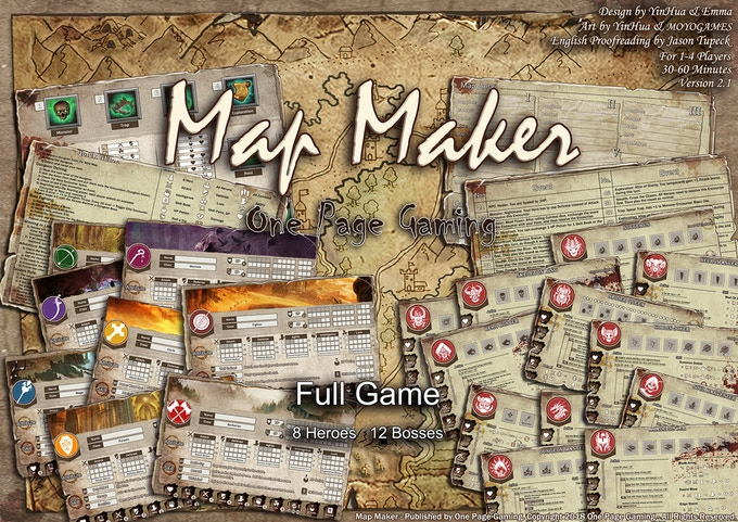 Map Maker Adventures - Dungeon Crawl RPG for 1-4 players by