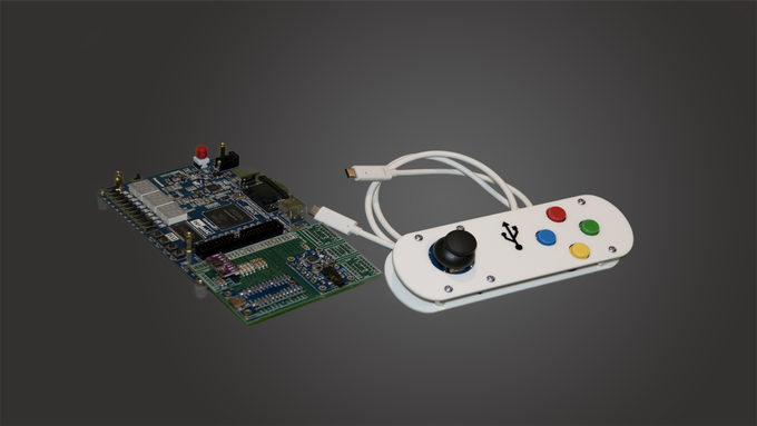 Our Retro Gaming Expansion Kit and COT FPGA Development Board DE0_CV