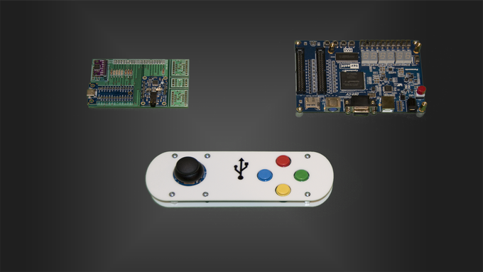Our Retro Gaming Expansion Kit and COT FPGA Development Board DE0_CV Standalone