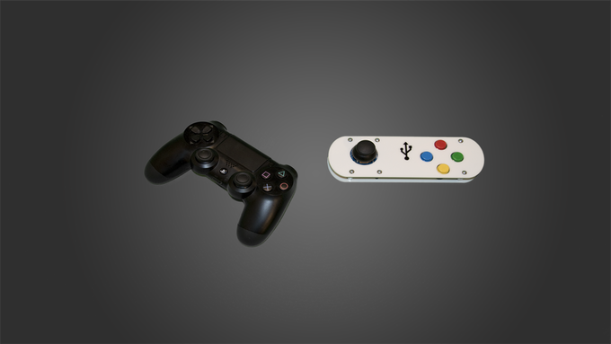 Our Analog Joypad vs PS4 Controller