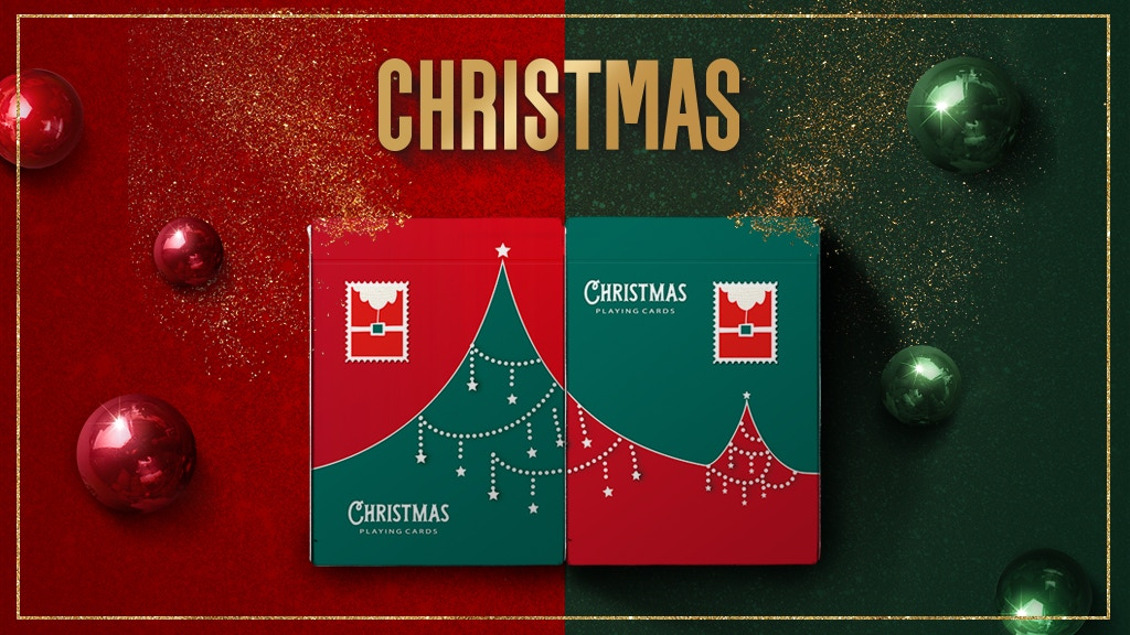 Christmas Playing Cards 2018 Limited Edition