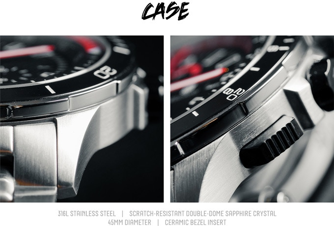Vigilante | The World's first Quad-Time-Zone Chronograph by