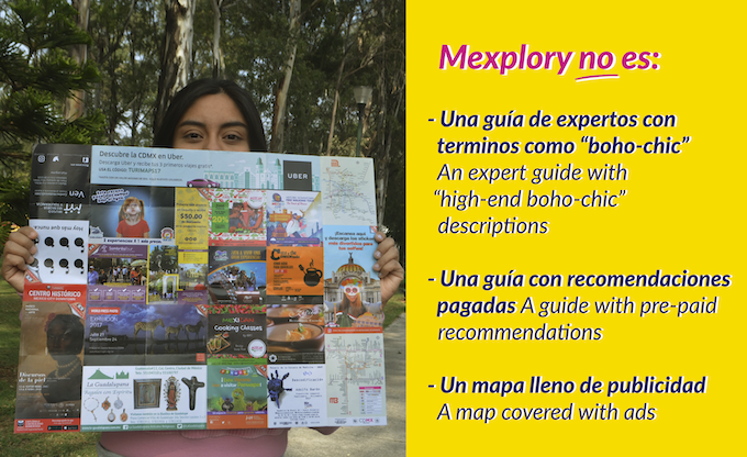Mexplory is not: