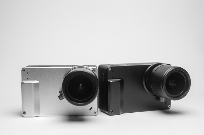 Black or Silver. (3-12mm zoom lens not included)