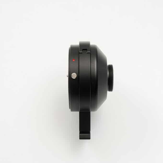 Rotate-able tripod collar, allows framing in landscape or portrait and every direction in between.