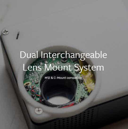 Dual lens mount system
