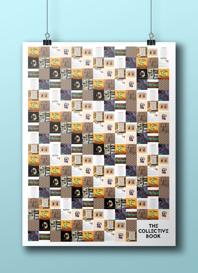 The Collective Book Poster - Mockup (A2 size)