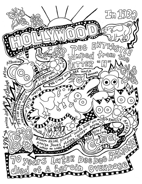 Special Edition Hollywood Print