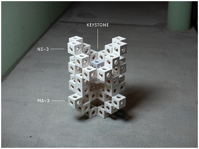 With two big boxes you can build several GHOSTKUBES and combine them into towers.  Example: MA-3, NI-3, KEYSTONE.