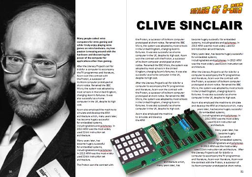 Titans of 8-Bits - Clive Sinclair