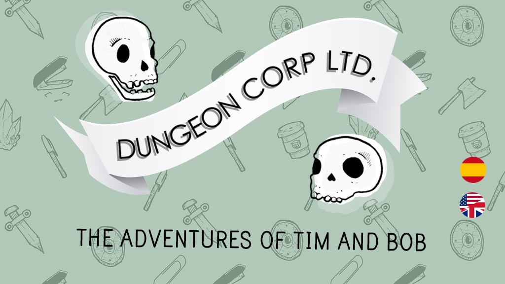 Dungeon Corp LTD.: The Adventures of Bob and Tim. project video thumbnail