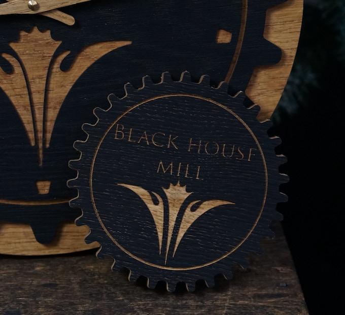 Sample Personalised Clock Pick Cog