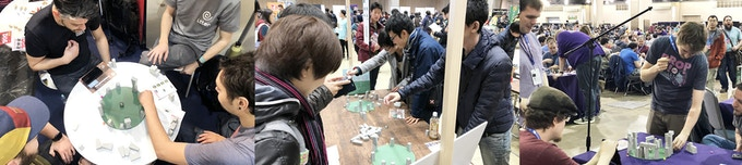 Stonehenge and the Sun Demo Scenes at Essen Spiel, Tokyo Game Market and Pax Unplugged