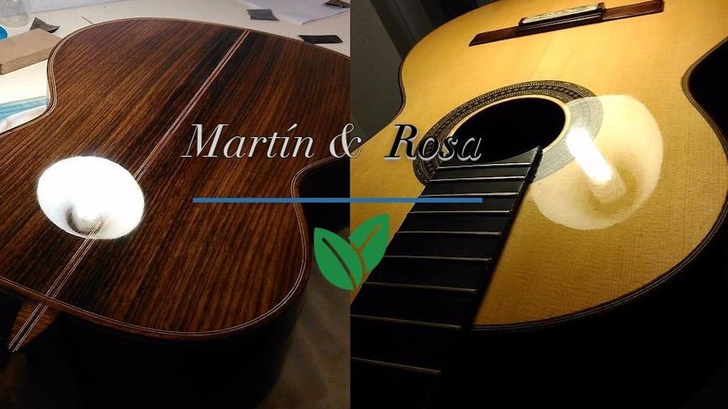 Flamenco guitar sound study.
