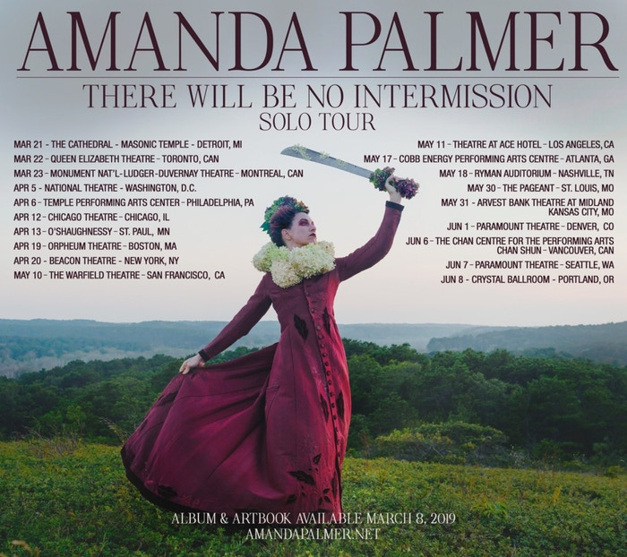 Amanda Palmer: The new RECORD, ART BOOK, and TOUR by Amanda